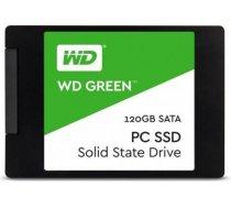 "SSD WESTERN DIGITAL Green 120GB SATA 3.0 TLC Read speed 545 MBytes/sec 2,5"" MTBF 1000000 hours WDS12 WDS120G2G0A"