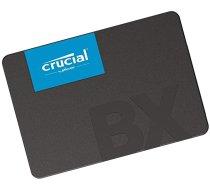 "SSD | CRUCIAL | BX500 | 120GB | SATA 3.0 | Write speed 500 MBytes / sec | Read speed 540 MBytes / sec | 2,5"" | MTBF 1500000 hours | CT120BX500SSD1"