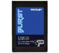 "SSD | PATRIOT | 120GB | SATA 3.0 | Write speed 540 MBytes / sec | Read speed 560 MBytes / sec | 2,5"" | MTBF 2000000 hours | PBU120GS25SSDR"