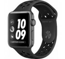 APPLE AppleWatch Nike+ Series 3 GPS. 42mm Space Grey Aluminium Case with Anthracite/Black Nike Sport Band. Model A1859 | MTF42EL/A