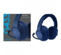 Logitech G433 7.1 Wired Surround Gaming Headset Blue PS4/Xbox One/Switch/PC | 981-000687zzz  | 5099206071544
