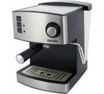 Mesko  Espresso Machine MS 4403 Pump pressure 15 bar, Built-in milk frother, Drip, 850 W, Stainless steel/Black | MS 4403  | 5908256836297