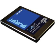 "PATRIOT  BURST 240GB SSD, 2.5"" 7mm, SATA 6Gb/s, Read/Write: 550 / 500 MB/s,  Random Read/Write IOPS 80K/60K   PBU240GS25SSDR    0814914023938"