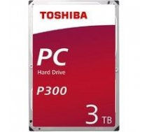TOSHIBA  HDD P300 BULK 3.5 3TB SATA 7200RPM 64MB   HDWD130UZSVA    4051528216721