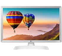 """LCD Monitor LG 28"""" 1366x768 16:9 8 ms Speakers Colour White 28TN515S-WZ"""
