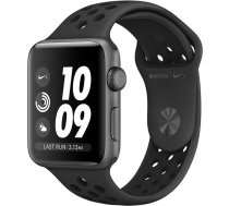 Apple Watch Apple Watch Nike+ Series 3 GPS, 38mm Space Grey Aluminium Case with Anthracite/Black Nike Sport Band, Model A1858 MTF12EL/A