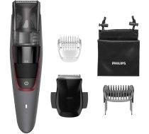 Matu, bārdas trimmeris Philips BEARDTRIMMER Series 7000 BT7510/15 hair trimmers/clipper Black, Grey