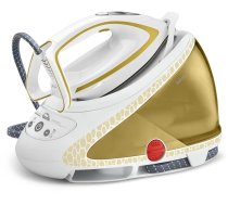 Gludeklis Tefal Pro Express Ultimate Care GV9581 steam ironing station 260 W 1.9 L Durilium Autoclean soleplate Gold,White