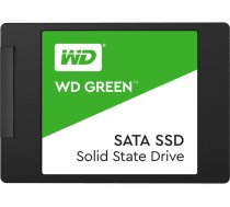 SSD cietais disks SSD|WESTERN DIGITAL|Green|480GB|SATA 3.0|TLC|Read speed 545 MBytes/sec|2,5"