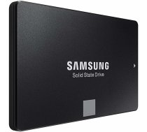 "SSD cietais disks SSD|SAMSUNG|860 Evo|1TB|SATA 3.0|MLC|Write speed 520 MBytes/sec|Read speed 550 MBytes/sec|2,5""|MTBF 1500000 hours|MZ-76E1T0B/EU"