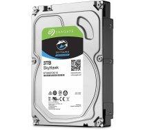 Cietais disks HDD|SEAGATE|SkyHawk|3TB|SATA 3.0|256 MB|5400 rpm|Discs/Heads 2/4|ST3000VX009