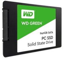 """SSD cietais disks SSD WD Green (2.5"""", 240GB, SATA III 6 Gb/s) WDS240G2G0A"""
