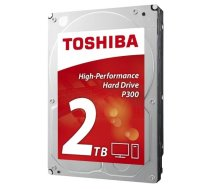 "Cietais disks HDD desktop Toshiba P300 (3.5"" 2TB, 7200RPM, 64MB, NCQ, AF, SATAIII), bulk HDWD120UZSVA"
