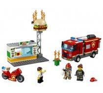 60214 LEGO® City Fire Ugunsgrēks burgeru kafejnīcā