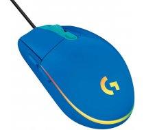 Spēļu pele Logitech G203 Lightsync, zila