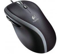 Datorpele Logitech M500 Black, vadu, lāzera