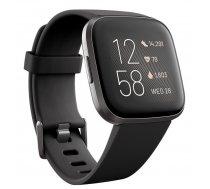 Viedpulkstenis Fitbit Versa 2 Black Carbon Aluminium
