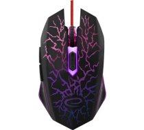 Spēļu pele Esperanza EGM211 Lightning Red, vadu, optiskā