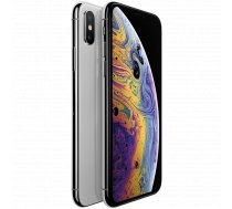 Apple iPhone Xs 64GB Silver (5.8-inch, Super Retina HD display, all-screen OLED Multi-Touch display, HDR display, 2436-by-1125-pixel resolution at 458 ppi, 3D Touch, IP68, A12 Bionic chip, 12MP/7MP, Face ID, iOS 12)
