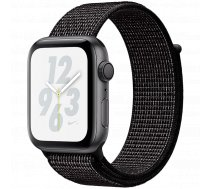 Apple Watch Nike+ Series 4 GPS, 44mm Space Grey Aluminium Case with Black Nike Sport Loop, Model A1978