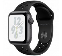 Apple Watch Nike+ Series 4 GPS, 40mm Space Grey Aluminium Case with Anthracite/Black Nike Sport Band, Model A1977