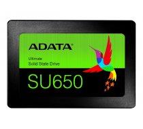 ADATA SU650 240GB 2.5inch SATA3 520/450MB/s 3D SSD