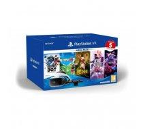 Sony PlayStation VR Virtuālās Realitātes Brilles Mega Paka ar 5 Spēlēm un PlayStation 4 Kameru (Jauna)