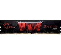 Atmiņa G.Skill Aegis, DDR4, 8 GB,2400MHz, CL15 (F4-2400C15S-8GIS)