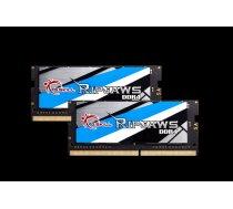 Atmiņa portatīvam datoram G.Skill Ripjaws DDR4 SODIMM 2x8GB 2400MHz CL16 (F4-2400C16D-16GRS)
