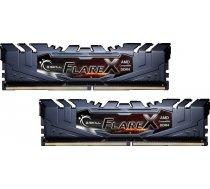 Atmiņa G.Skill Flare X, DDR4, 16 GB,3200MHz, CL16 (F4-3200C16D-16GFX)