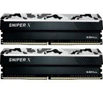 Atmiņa G.Skill Sniper X, DDR4, 16 GB,3200MHz, CL16 (F4-3200C16D-16GSXWB)