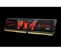 Atmiņa G.Skill Aegis, DDR4, 16 GB,2400MHz, CL15 (F4-2400C15S-16GIS)