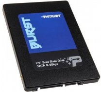Disks SSD Patriot Patriot SSD Burst  480GB 2.5'' SATA III read/write 560/540 MBps, 3D NAND Flash - PBU480GS25SSDR