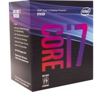 Procesor Intel Core i7-8700K, Hexa Core, 3.70GHz, 12MB, LGA1151, 14nm, BOX (BX80684I78700K)
