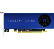 Video kārte AMD Radeon Pro WX 3100 4GB GDDR5 (256 Bit) 1xDP, 2x Mini DP (100-505999)