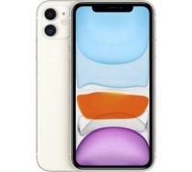 Smartfon Apple iPhone 11 4/64GB balts (MWLU2)