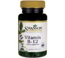 Swanson Vitamīns B-12 500mcg 100 kaps. - SWA/286