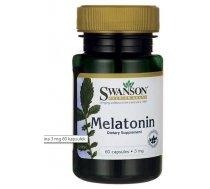 Swanson Melatonin 3mg 60 kaps - 93442