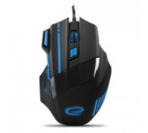 MOUSE WIRE FOR PLAYERS 7D MX201 OPTICAL USB WOLF BLUE