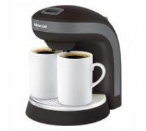 Coffee maker SCE 2000BK Coffe/Tea, 2 cups FREE