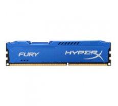 DDR3 Kingston HyperX Fury Blue 8GB 1600MHz CL10 1.5V