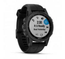 Watch sports Garmin Fenix 5S Plus Sapphire 010-01987-03 (black color)