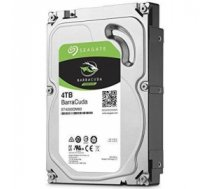 "HDD | SEAGATE | Barracuda | 4TB | SATA 3.0 | 256 MB | 5400 rpm | Discs/Heads 2/4 | 3,5"" | ST4000DM004"