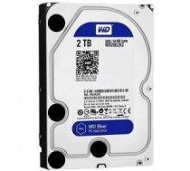 "HDD | WESTERN DIGITAL | Blue | 2TB | SATA 3.0 | 64 MB | 5400 rpm | 3,5"" | WD20EZRZ"