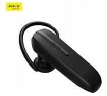 Jabra Talk 5 Bluetooth (Austiņa) ar Ilgu darbību un Balss filtru (DSP) Multipoint Funkciju Melna