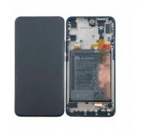 LCD ekrāns Huawei P Smart Z ar skārienekrānu ar rāmi un akumulatoru, zaļš oriģināls (service pack)
