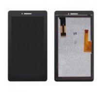 LCD displejs ekrāns Lenovo Tab E7 TB-7104 7.0 ar skārienekrānu melns HQ