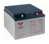 YUASA - YUASA NP24-12I, Re-battery: acid-lead; 12V; 24Ah; maintenance-free; AGM - ACCU-HP24-12/Y