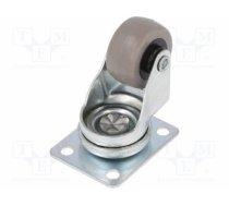COLSON - COLSON JDPE 0301 1001, Transport wheel; Ø: 30mm; W: 15mm; H: 50mm; torsional; 15kg - JDPE-0301-1001