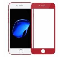 SWISSTEN - Swissten Ultra Durable 3D Japanese Tempered Glass Premium 9H Aizsargstikls Apple iPhone 7 / 8 Sarkans - SW-JAP-T-3D-IPH78-R